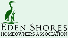 The Eden Shores Homeowners Association